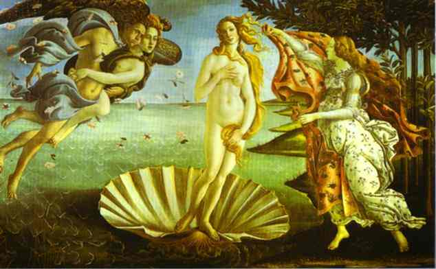 The Birth of Venus by Alessandro Botticelli (1445-1510, Italy) | Art Reproduction | WahooArt.com