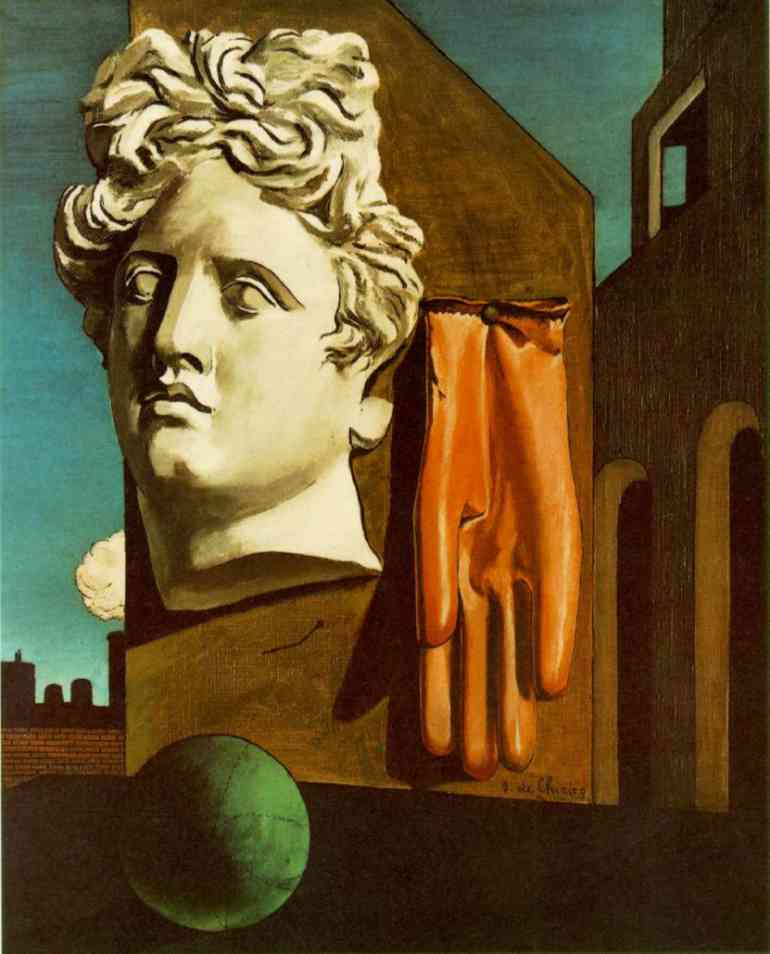 Song of Love by Giorgio De Chirico (1888-1978, Greece) | Oil Painting | WahooArt.com