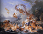 François Boucher - The Birth of Venus
