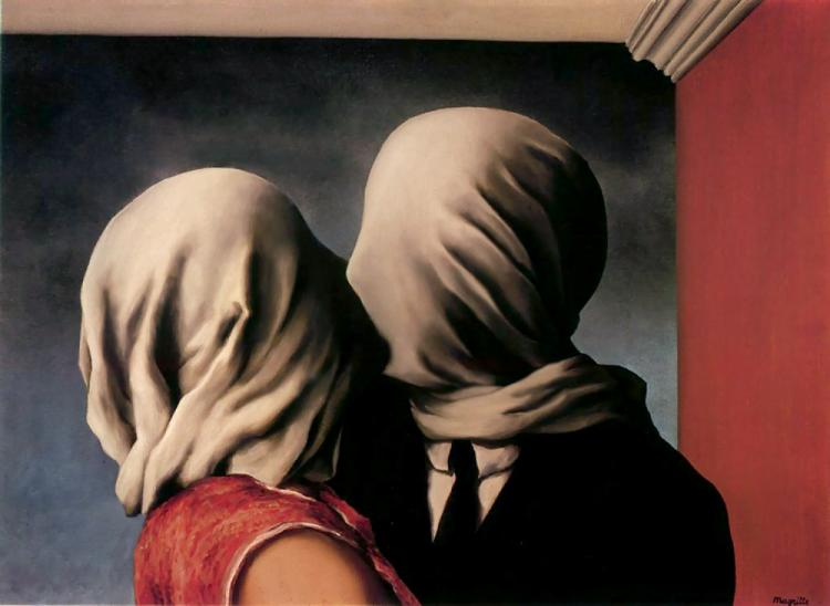 The Lovers, Renee Magritte