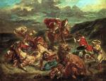 Display this painting by Eugène Delacroix