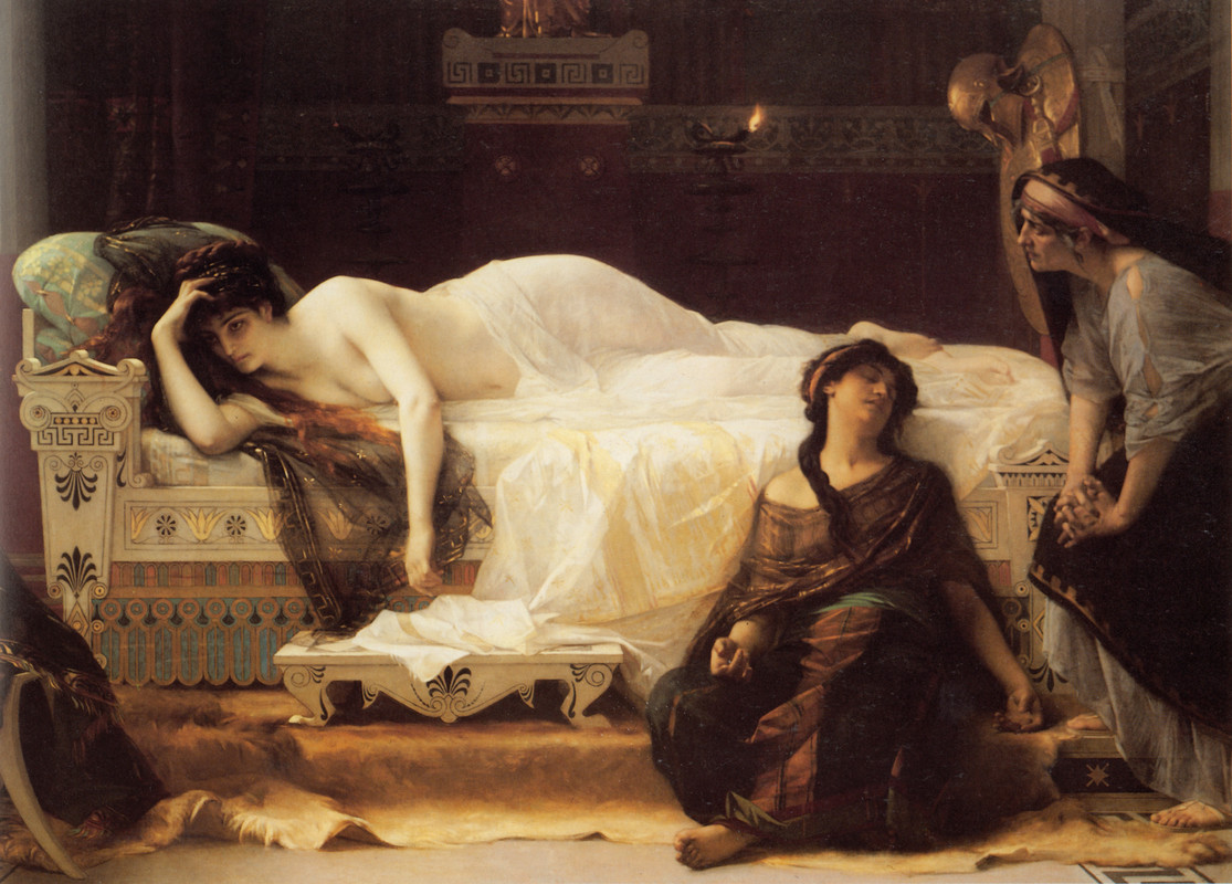 Alexandre Cabanel >> Phèdre  |  (Oil, artwork, reproduction, copy, painting).