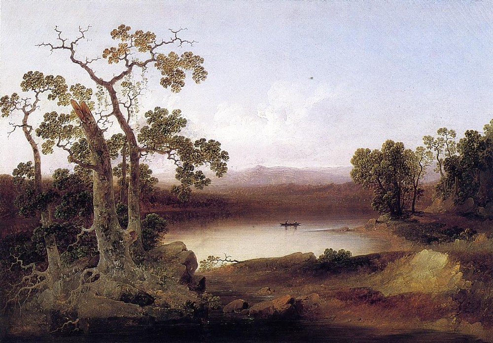 Joshua Shaw >> View of the Susquehanna  |  (Oil, artwork, reproduction, copy, painting).