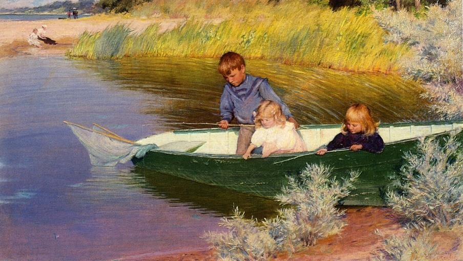 http://WahooArt.com/A55A04/w.nsf/OPRA/BRUE-8DP4R8/$File/CHARLES-COURTNEY-CURRAN-CHILDREN-FISHING.JPG