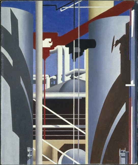 Charles Sheeler >> Incantation  |  (Oil, artwork, reproduction, copy, painting).