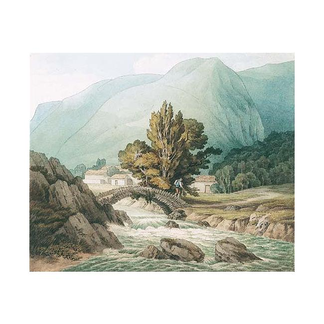 John White Abbott >> Watendlath, Cumberland  |  (Oil, artwork, reproduction, copy, painting).
