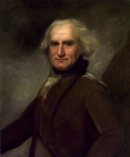 Lemuel Francis Abbott >> Admiral Alexander Hood, 1727-1814, 1st Viscount Bridport (sketch)  |  (Oil, artwork, reproduction, copy, painting).