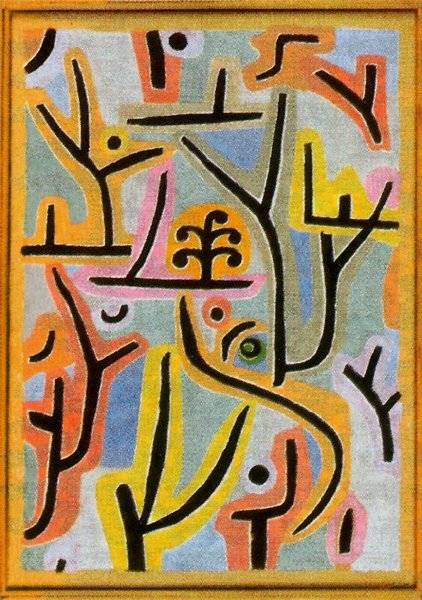 Paul Klee >> Park near Lu  |  (, artwork, reproduction, copy, painting).