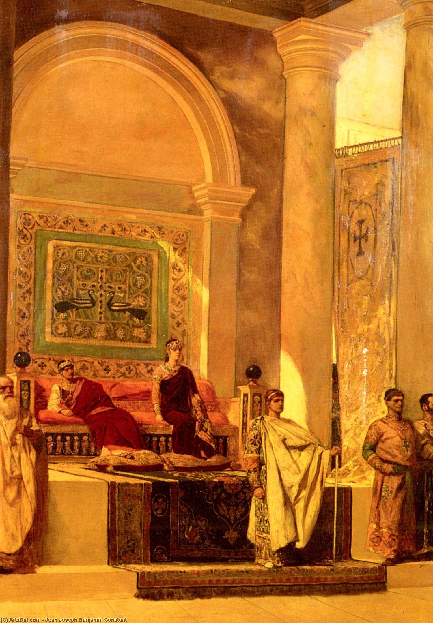 Тронный зал в Византии - Jean Joseph Benjamin Constant