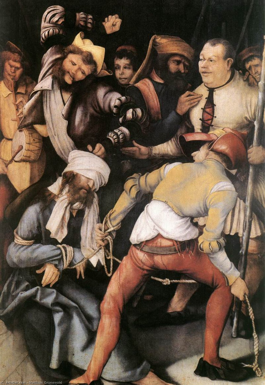 The Mocking of Christ - Matthias Grünewald