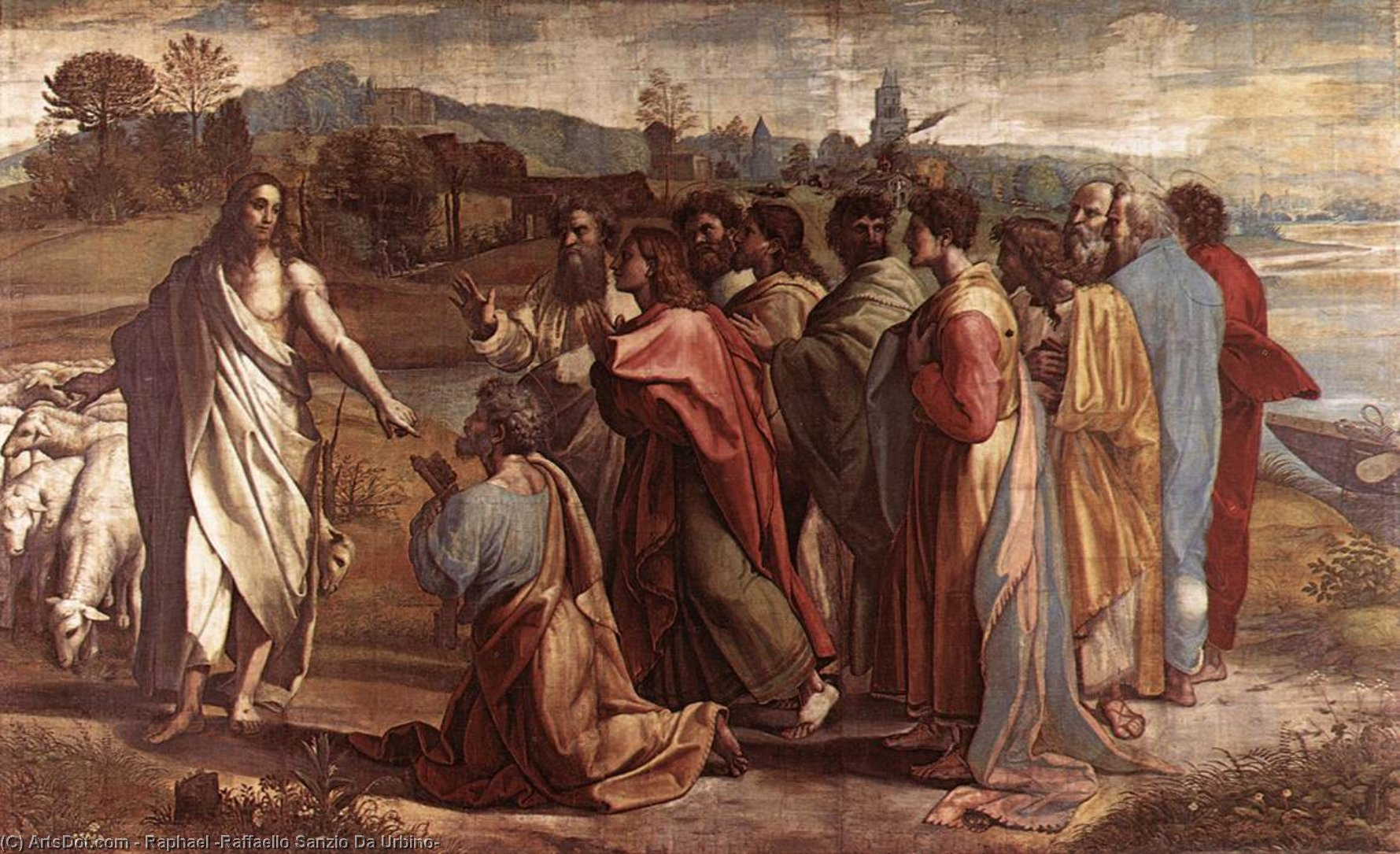 the life and works of raffaello sanzio during the italian high renaissance Raphael, born raffaello sanzio raphael's art epitomized the high renaissance qualities of harmony and ideal beauty his work met with high praise.