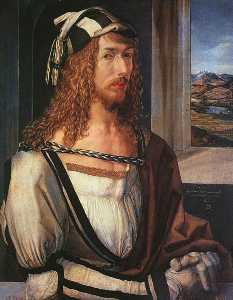autoportrait 1498, Madrid Prado
