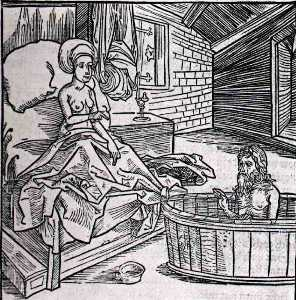 Women s Bath Cold And The Hermit, Berl ~ 4E4