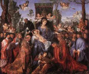 The Altarpiece of the Rose Garlands