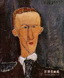 Portrait of Blaise Cendrars
