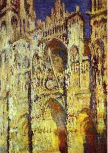 The Rouen Cathedral