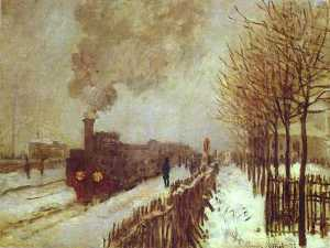 The Train in the Snow