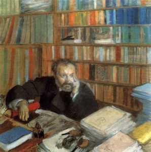 Portrait of Edmond Duranty