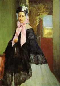 Portrait of Marguerite de Gas, the Artist's Siste