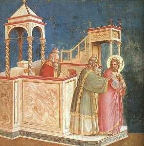 Scrovegni - [01] - Expulsion of Joachim from the Temple
