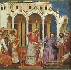 Scrovegni - [27] - Expulsion of the Money-changers from the Temple