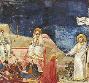Scrovegni - [37] - Resurrection (Noli me tangere)
