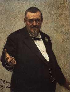 Portrait of the Lawyer Vladimir Spasovitch