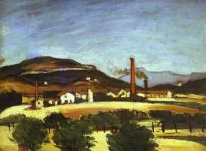 Factories near the Mount of Cengle