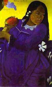 Vahine no te vi (Woman with a Mango)