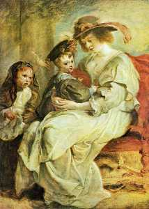 Helene Fourment with her Children