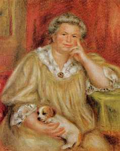 Madame Renoir with Bob