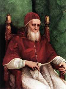Portrait of Julius II - London