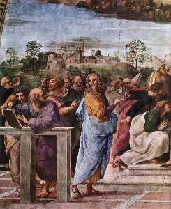 Stanze Vaticane - La Disputa (detail) [04]