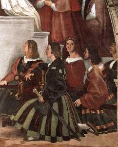 Stanze Vaticane - The Mass at Bolsena (detail) [02]