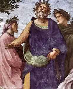 Stanze Vaticane - The Parnassus (detail) [06]