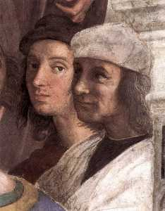 Stanze Vaticane - The School of Athens (detail) [08]