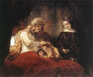 Jacob Blessing the Sons of Joseph