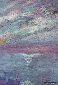 Moonlight Over the Bay At, CadaquNs, circa 1920