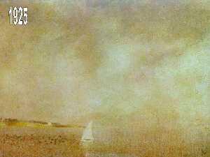 Залив CadaquNs 1925