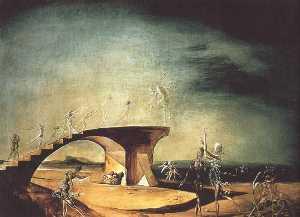 The Broken Bridge and the Dream, 1945