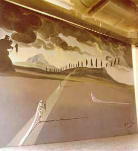Backdrop for 'Don Juan Tenorio', 1950