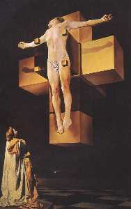 Crucifixion ('Corpus Hypercubus'), 1954