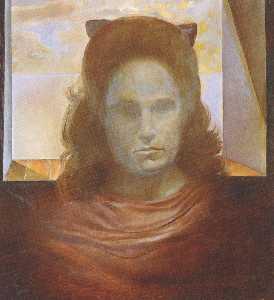 Portrait of Gala, circa 1977
