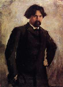 Portrait of the Artist Vasily Surikov