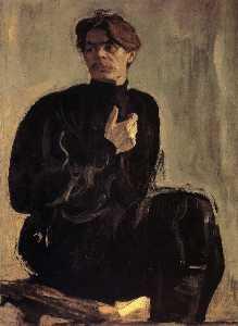 Portrait of the Writer Maxim Gorky