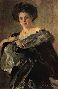 Portrait of Yevdokia Morozova