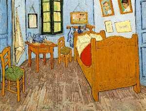 La chambre de Van Gogh a Arles (Van-Gogh