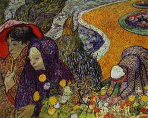 Ladies of Arles (Reminiscence of the Garden at Etten)