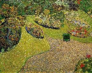 Garden in Auvers