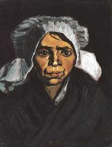Head of a Peasant Woman with White Cap 2